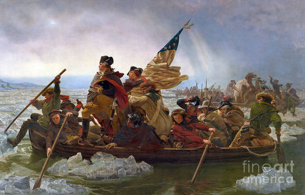 Photograph - Crossing The Delaware by Granger