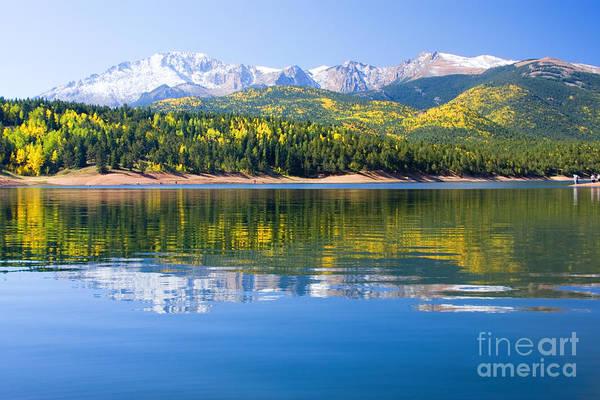 Photograph - Crystal Lake On Pikes Peak by Steve Krull