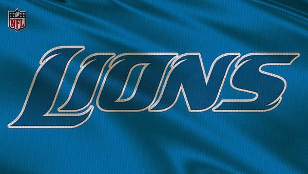 Detroit Lions Photograph - Detroit Lions Uniform by Joe Hamilton