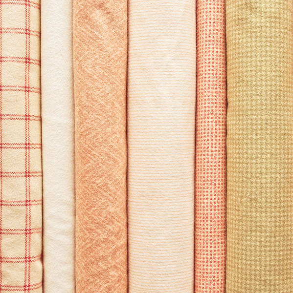 Clothing Store Photograph - Fabric Background by Tom Gowanlock