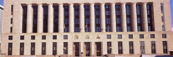 Wall Art - Photograph - Facade Of A Government Building by Panoramic Images