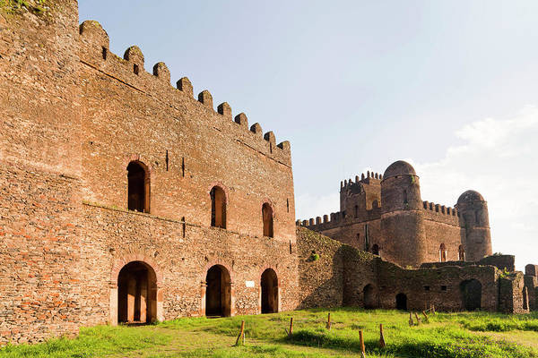 East Africa Wall Art - Photograph - Fasil Ghebbi, A Fortress-like Royal by Martin Zwick