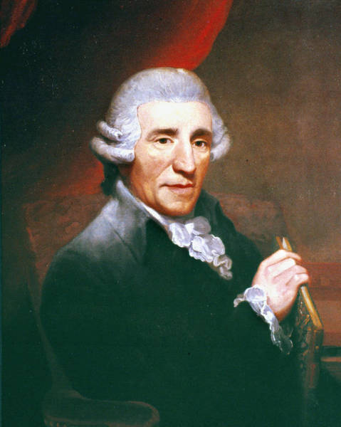 Wall Art - Painting - Franz Joseph Haydn (1732-1809) by Granger