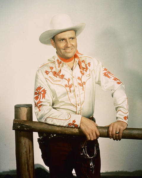 Wall Art - Photograph - Gene Autry by Silver Screen