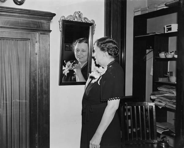 Wall Art - Photograph - Hattie Caraway (1878-1950) by Granger