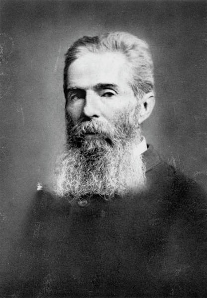 Melville Photograph - Herman Melville (1819-1891) by Granger