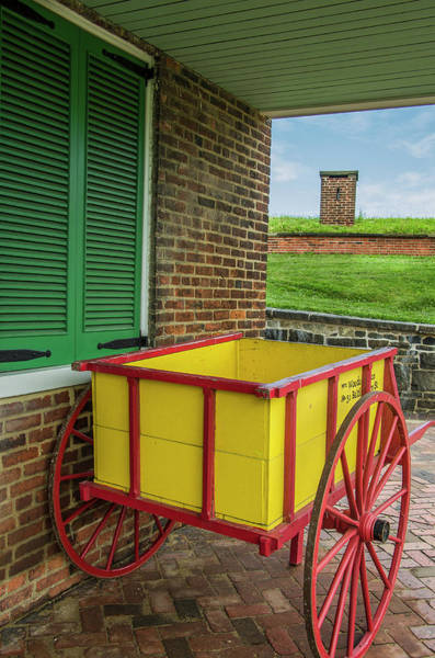 Wall Art - Photograph - Historic Fort Mchenry, Birthplace by Jerry Ginsberg