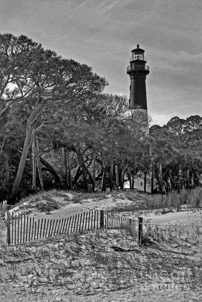 Hunting Island Lighthouse Wall Art - Photograph - Hunting Island Lighthouse by Skip Willits