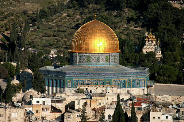 Biblical Photograph - Israel, Jerusalem by David Noyes