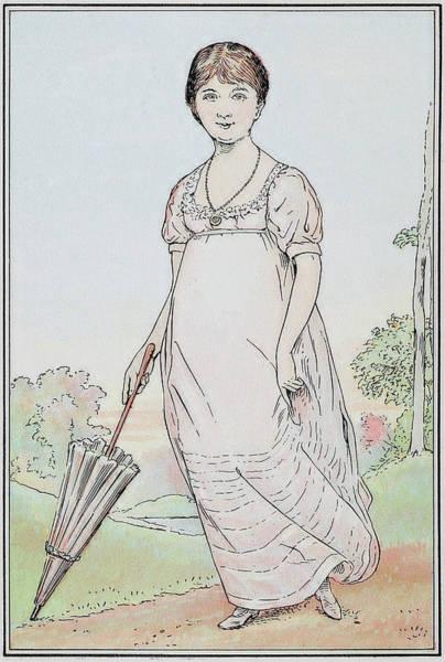 Wall Art - Painting - Jane Austen (1775-1817) by Granger