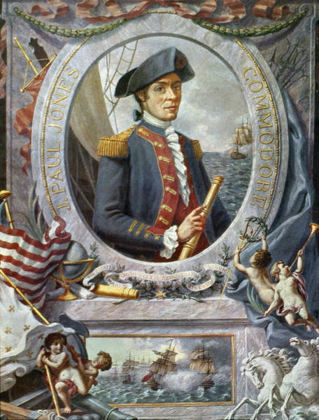 John Paul Jones Photograph - John Paul Jones (1747-1792) by Granger