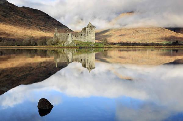Photograph - Kilchurn Castle by Grant Glendinning