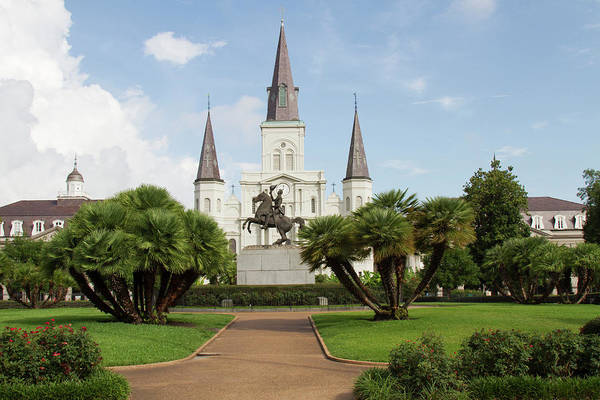 St Andrew Photograph - La, New Orleans, French Quarter by Jamie and Judy Wild