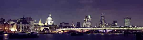 Wall Art - Photograph - London Night by Songquan Deng