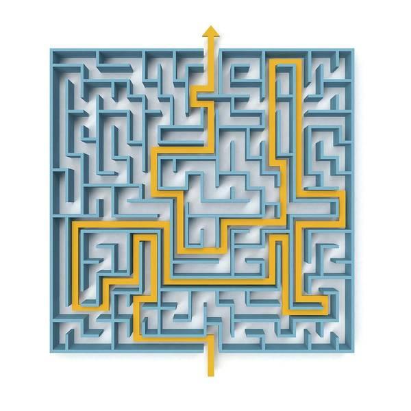 Wall Art - Photograph - Maze by Wladimir Bulgar/science Photo Library