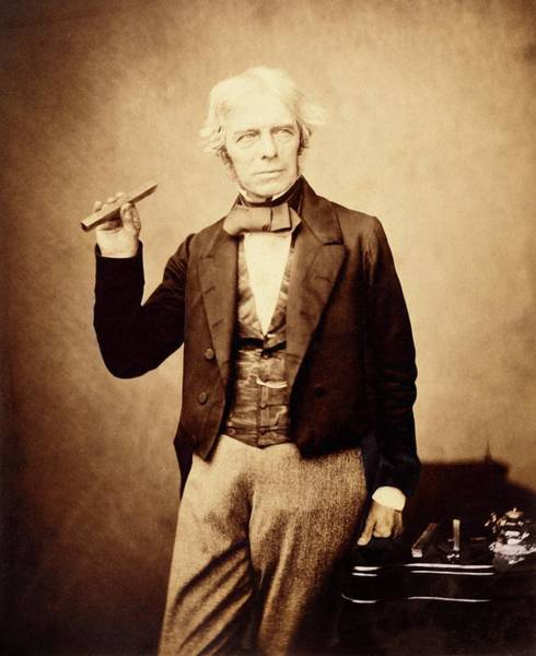 Photograph - Michael Faraday by Royal Institution Of Great Britain / Science Photo Library