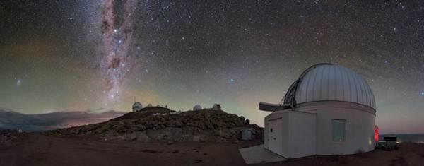 Wall Art - Photograph - Milky Way Over Cerro Tololo Observatory by Babak Tafreshi/science Photo Library