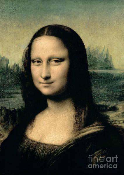 Mona Lisa Wall Art - Painting - Mona Lisa by Leonardo Da Vinci