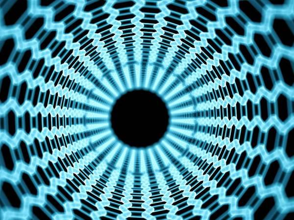 Nano-technology Wall Art - Photograph - Nano Tube by Sebastian Kaulitzki/science Photo Library