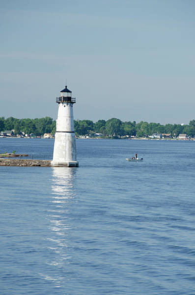 Narrow Boat Wall Art - Photograph - New York, St Lawrence Seaway, Thousand by Cindy Miller Hopkins