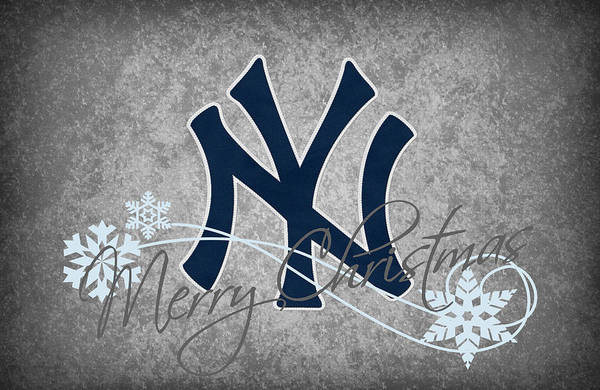 Santa Photograph - New York Yankees by Joe Hamilton