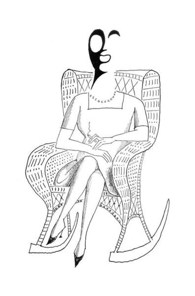 Fur Coat Drawing - New Yorker May 5th, 1962 by Saul Steinberg