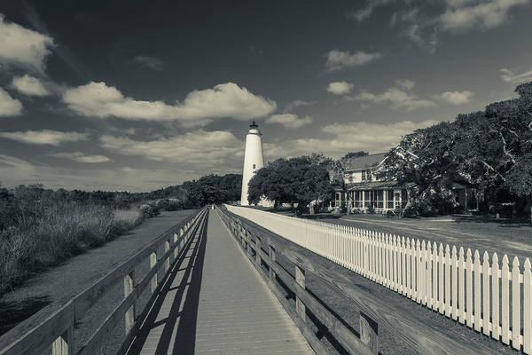 Ocracoke Lighthouse Photograph - North Carolina, Cape Hatteras National by Walter Bibikow