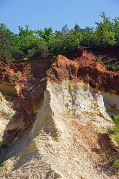Wall Art - Photograph - Ochre Quarry by Philippe Psaila/science Photo Library