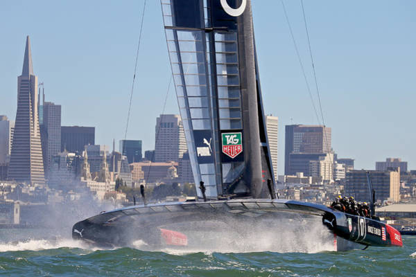 Photograph - Oracle America's Cup by Steven Lapkin