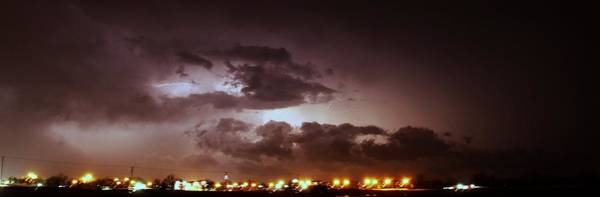 Photograph - Our 1st Severe Thunderstorms In South Central Nebraska by NebraskaSC