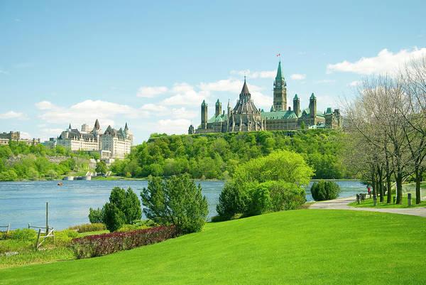 Canadian Culture Photograph - Parliament by Dennis Mccoleman