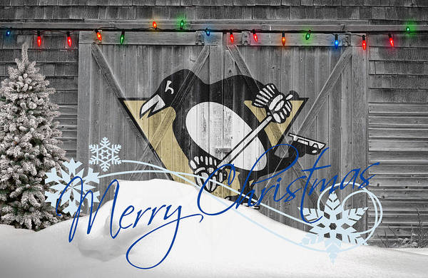 Hockey Sticks Wall Art - Photograph - Pittsburgh Penguins by Joe Hamilton