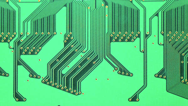 Wall Art - Photograph - Printed Circuit Board by Wladimir Bulgar/science Photo Library