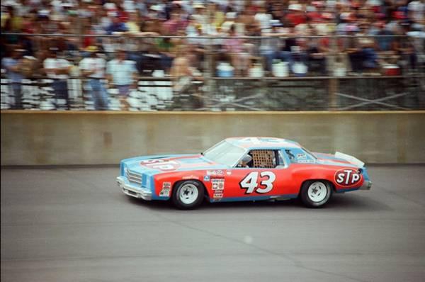 Dayton Photograph - Richard Petty by Retro Images Archive