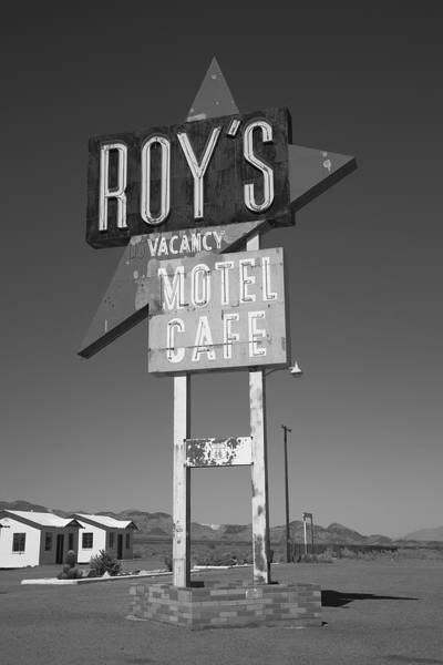 Photograph - Route 66 - Roy's Of Amboy California by Frank Romeo