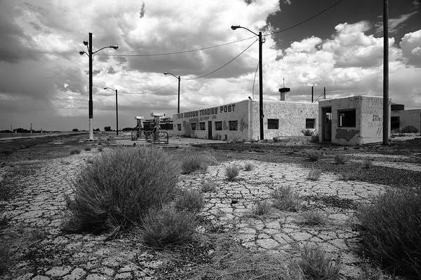 Photograph - Route 66 - Twin Arrows Trading Post by Frank Romeo