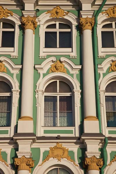 Hermitage Photograph - Russia, Saint Petersburg, Center by Walter Bibikow