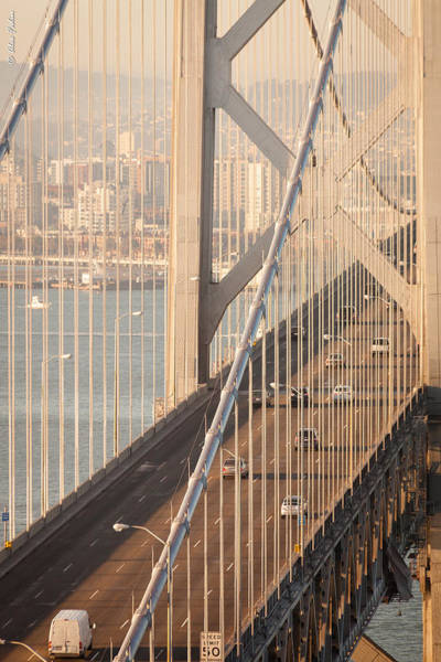 Photograph - San Francisco Bay Bridge by Alexander Fedin