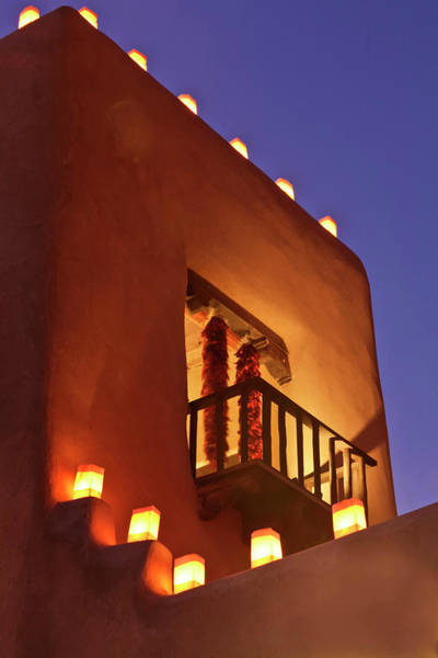 Adobe Photograph - Santa Fe, New Mexico, United States by Julien Mcroberts