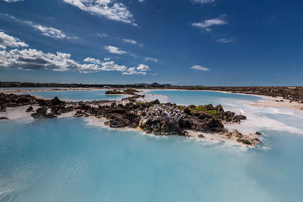 Landforms Photograph - Silica Deposits In Water By The by Panoramic Images