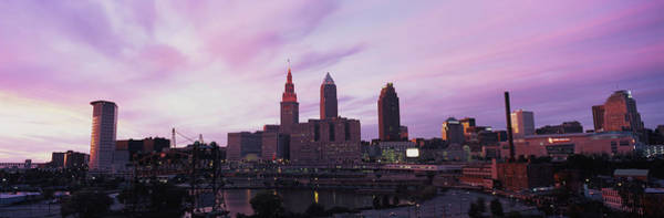 Cleveland Scene Photograph - Skyscrapers In A City, Cleveland, Ohio by Panoramic Images