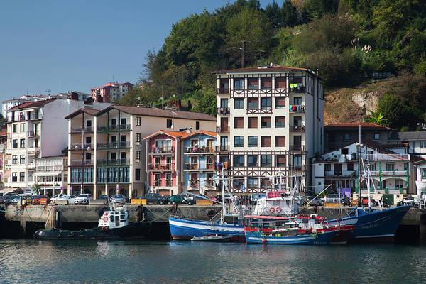 Basque Wall Art - Photograph - Spain, Basque Country Region, Guipuzcoa by Walter Bibikow