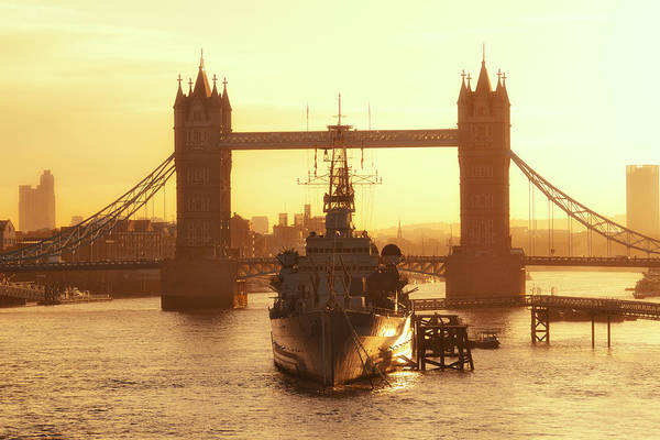 Photograph - Thames River London by Songquan Deng