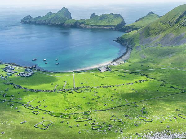 Dun Photograph - The Islands Of St Kilda Archipelago by Martin Zwick