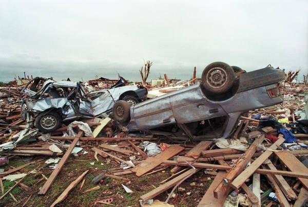 Wall Art - Photograph - Tornado Damage by Jim Reed/science Photo Library