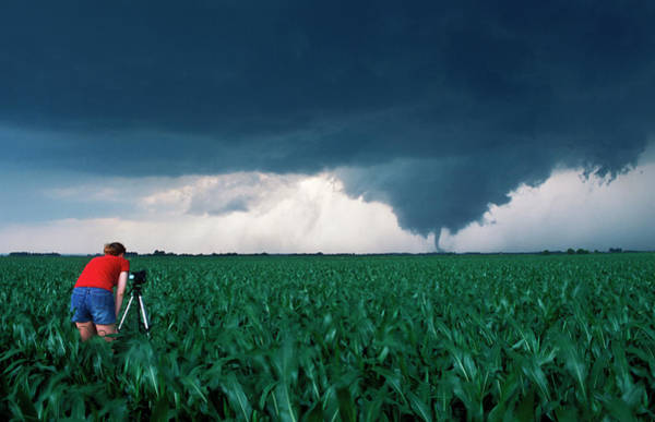 Researcher Wall Art - Photograph - Tornado by Jim Reed/science Photo Library