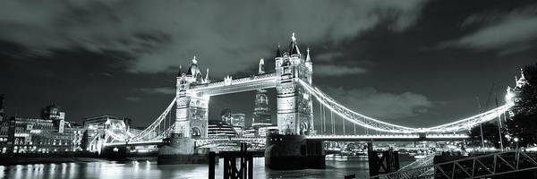 Wall Art - Photograph - Tower Bridge London by Songquan Deng