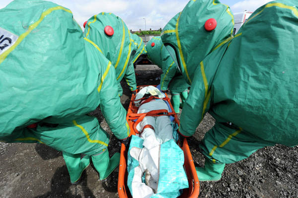 Nbc Photograph - Training Exercise For Major Emergency by Public Health England