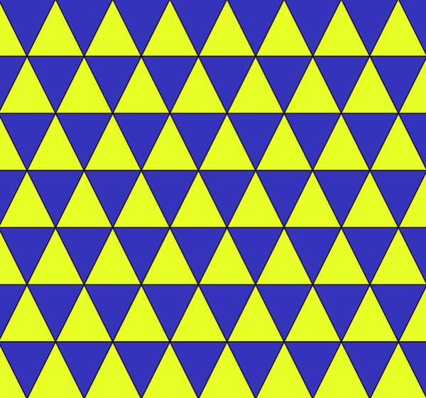 2d Photograph - Uniform Tiling Pattern by Science Photo Library