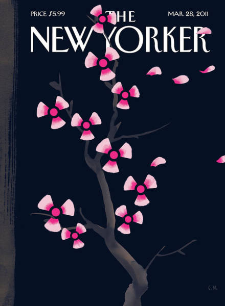 0 Wall Art - Painting - New Yorker March 28th, 2011 by Christoph Niemann